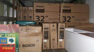 Aparelhos de TV roubados em porto de Manaus eram vendidos em São Gabriel