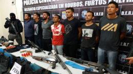 Suspeitos foram presos e já realizaram outros assaltos em Manaus, segundo delegado da Polícia Civil (Foto: Erlon odrigues/PC-AM)