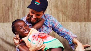 Bruno Gagliasso compartilha bastidores de ensaio fotográfico com a filha