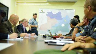 Equipe de Giuliani visita polícias em Manaus dois dias após fuga de 35 presos