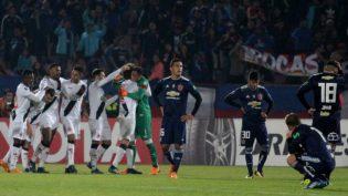 Vasco vence Universidad de Chile e garante vaga na Copa Sul-Americana