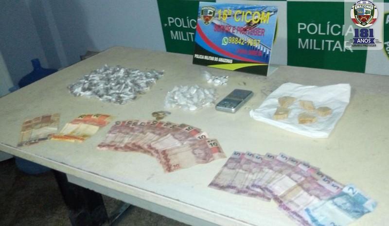 Criança de 10 anos é apreendida por tráfico de drogas em Manaus