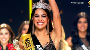 Amazonense Mayra Dias é eleita Miss Brasil 2018 e disputará o Miss Universo