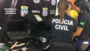 Operação Luz da Infância 2 prende seis homens em Manaus por pedofilia