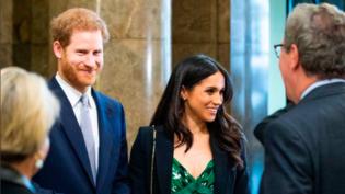 Harry e Meghan chegam a Windsor para novo ensaio do casamento