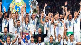 Real Madrid reafirmou seu domínio no futebol europeu com a conquista do tricampeonato da Liga dos Campeões (Foto: Real Madrid/Gettyimages)