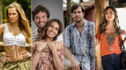 Entre os princiupais atores da nova novela não há negros. Globo foi notificada sobre falta de diversidade racial (Foto: Rede Globo/Divulgação)