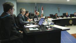 Conselheiros foram unânimes em rejeitar contas de ex-secretário da Sempab (Foto: TCE/Divulgação)