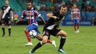 Bahia goleia o Vasco e abre vantagem nas quartas de final da Copa do Brasil