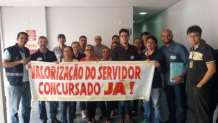 Servidores da Sepror cobram do governo pagamento de reajuste ainda este ano