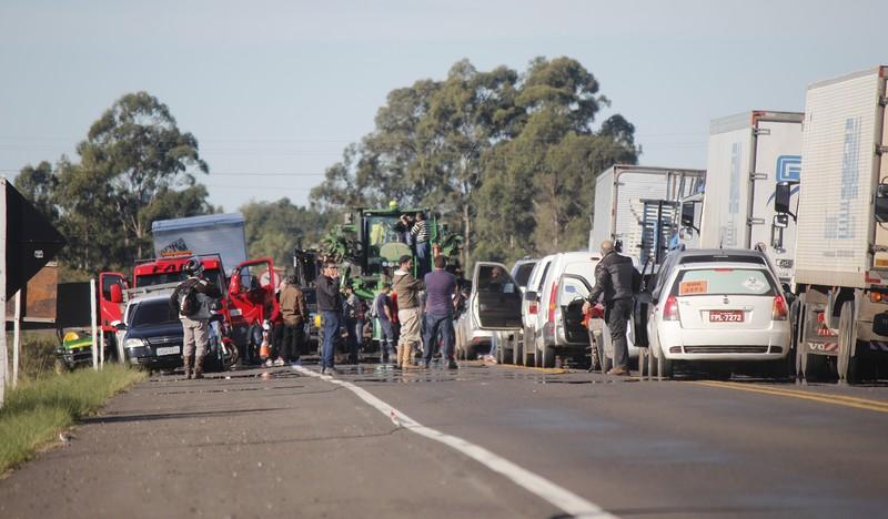 Governo adotou medidas para a desobstrução de rodovias federais e estaduais (Foto Marcelo Pinto/Fotos Públicas)