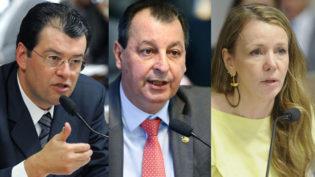 Quatro inquéritos em julgamento no STF envolvem os três senadores do Amazonas