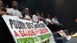 Servidores ameaçaram parar a saúde pública no Amazonas em protesto contra veto do governo à antecipação de data base (Foto: ATUAL)