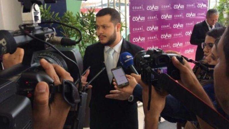 Adail Filho, prefeito de Coari