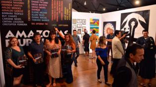 Artistas da exposição 'Amazonas Plural' realizam oficinas na Usina Chaminé