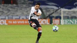 Com um belo gol, Andrey pôs o Vasco em vantagem, mas Cruzeiro empatou (Foto: Carlos Gregório Jr/Vasco.com.br)