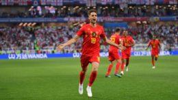 Januzaj festeja gol que garantiu a vitória da Bélgica sobre a Inglaterra (Foto: Fifa/Divulgação)