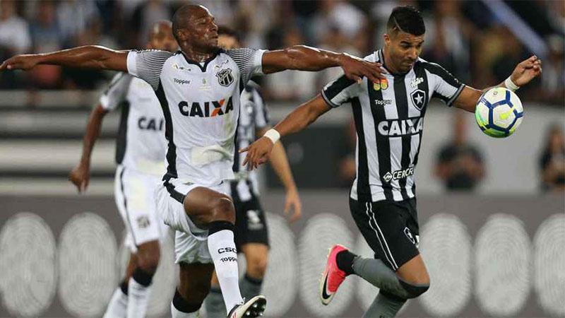 Botafogo empatou em casa com o Ceará e ficou mais longe dos primeiros colocados (Foto: Botafogo/Divulgação)
