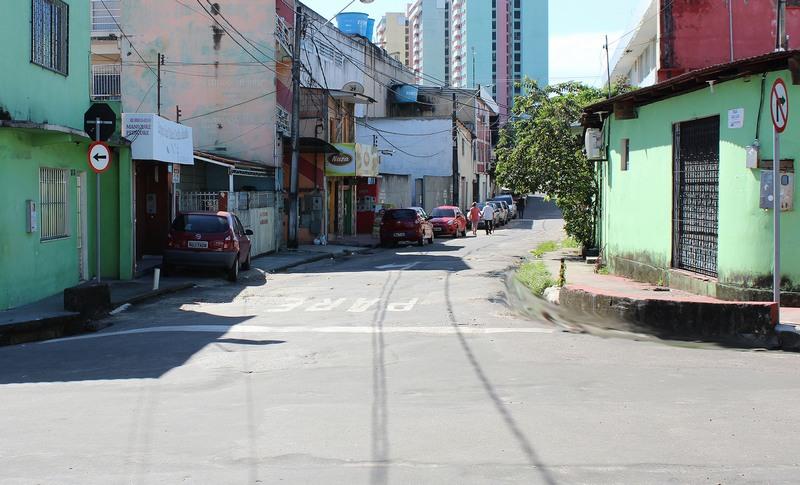 Sentido único em ruas da Chapada pretende ´proporcionar segurança a moradores e fluidez no trânsito (Foto: Marcelo Lima/Semcom)