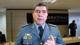 David Brandão, comandante geral da PM Amazonas