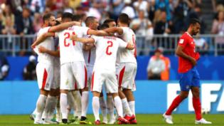Sérvia vence Costa Rica e desponta como 2ª força em grupo do Brasil