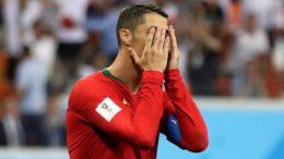 Cristiano Ronaldo lamenta perda de pênalti contra o rã, mas Portugal se classificou (Foto: Fifa/Divulgação)
