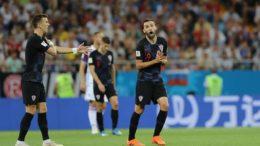 Milan Badelj marcou para a Croácia na vitória sobre a Islândia que assegurou vaga (Foto: Fifa/Divulgação)