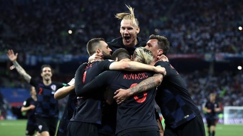 Croatas fizeram a festa ao golearem a Argentina e aumentar chances de classificação (Foto: Fifa/Divulgação)