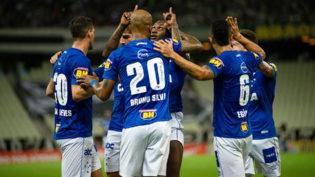 Cruzeiro vence, deixa Ceará na lanterna e assume vice-liderança