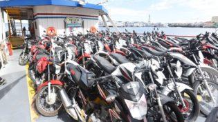 Polícia recupera 53 motos e três carros roubados em quatro municípios do Estado