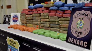 Drogas apreendidas em Iranduba são avaliadas em R$ 800 mil