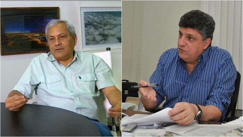 Evandro Melo e Raul Zaidan entraram com recursos no STF e suspenderam audiências na justiça federal do Amazonas (Fotos: ATUAL)