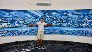 Exposição Latitude Amazônica alia arte e ciência na interpretação das nuvens amazônicas