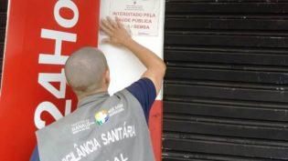 Vigilância interdita farmácia por funcionamento irregular em Manaus