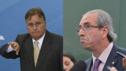 Geddel Vieira Lima e Eduardo Cunha são acusados de receber propina de R$ 105 milhões (Foto: Agência Brasil)