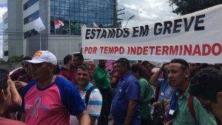 Justiça do Trabalho pede ação do MPF e MPT para encerrar greve de ônibus em Manaus