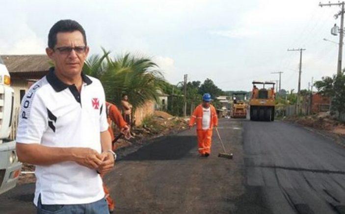 Hamilton Alves Villar foi condenado a 41 anos de prisão por diversos crimes na gestão pública (Foto: PMCC/Divulgação)