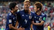 Honda saiu do banco de reservas para marcar gol de empate do Japão contra o Senegal (Foto: Fifa/Divulgação)