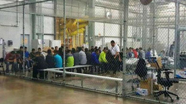 Centro de triagem nos EUA onde imigrantes ilegais ficam detidos: mais brasileiros buscam o país norte-americano (Foto: Aduana/EUA/Divulgação)