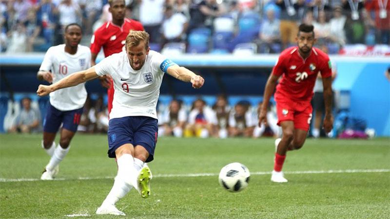Harry Kane tem cinco gols e é o artilheiro da Copa do Mundo na Rússia (Foto: Fifa/Divulgação)
