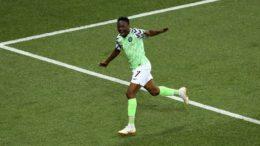 Atacante Musa fez os dois gols no segundo tempo (Foto: Fifa/Divulgação)