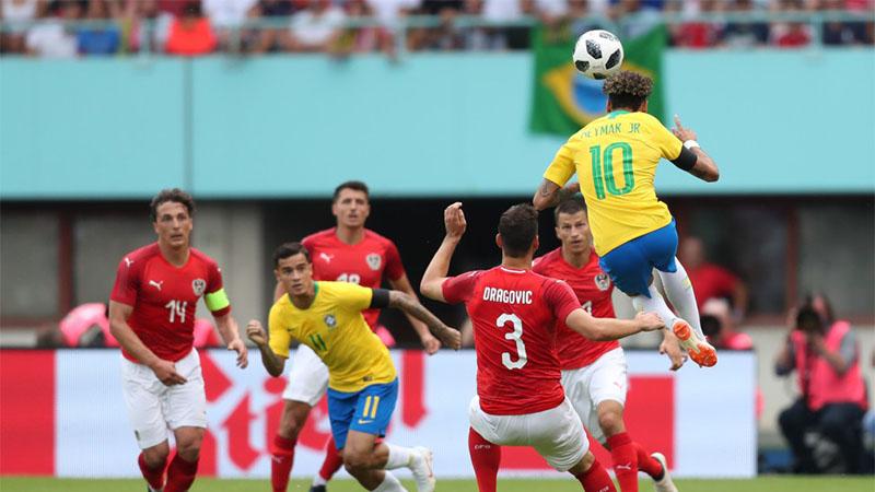 Neymar marcou golaço e foi decisivo no esquema tático da Seleção (Foto: Lucas Figueiredo/CBF)