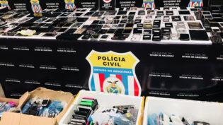 Polícia Civil vai devolver 200 celulares roubados a seus donos