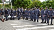 Policiais militares teriam índice maior de reajuste salarial este ano, mas governo vetou mudança (Foto: ATUAL)