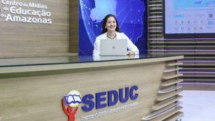 Plataforma do Centro de Mídias da Seduc tem recorde de acessos