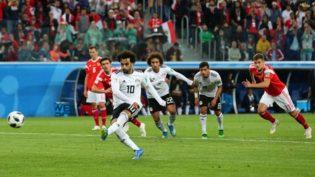Rússia ofusca Salah, elimina o Egito e encaminha classificação