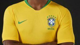 Seleção entrará em campo com a tradicional camisa amarela, calção azul e meiões brancos (Foto: CBF/Divulgação)