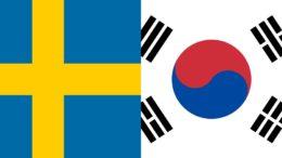 Suécia ganhou de 1 a 0 da Coreia do Sul em jogo definido por árbitro de vídeo (Foto: Divulgação)