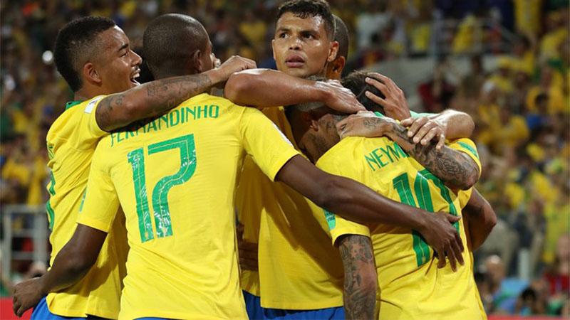 Thiago Silva marcou o segundo gol do Brasil na vitória contra a Sérvia (Foto: Fifa/Divulgação)