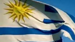 Seleção do Uruguai venceu o primeiro jogo na Copa com um gol no segundo tempo (Foto: YouTube/Reprodução)